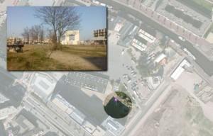 Locatie Nieuwe Stadsboeren Amersfoort, de Nieuwe Stad