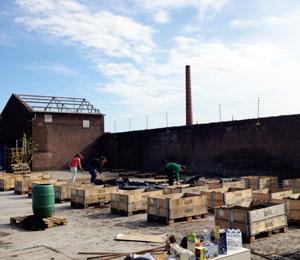 Wellantcollege scholieren helpen Nieuwe Stadsboeren