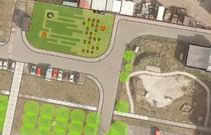 Wagenwerkplaats Nieuwe Stadsboeren plattegrond