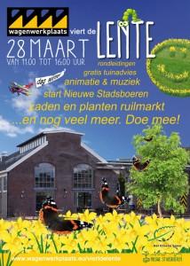 Lentemarkt Wagenwerkplaats 28 maart 2015