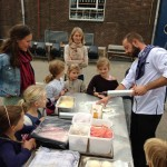 Pizza bakken oogstfeest